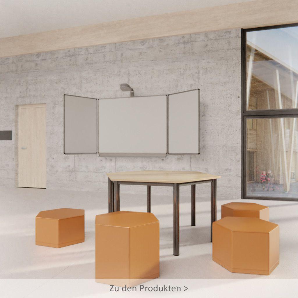 Formschöne Möbel für den Ganztagsbereich