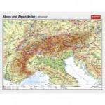 Wandkarten Geographie