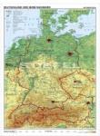 Wandkarten Deutschland