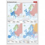 Wandkarte Die Einigung Europas, 140x200 cm,