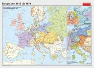 Wandkarte Europa von 1815 bis 1871, 200 x 140 cm,