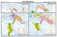 Wandkarte Der Alte Orient, 210 x 135 cm,