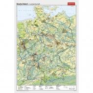 Wandkarte Deutschland, Landwirtschaft, 140x210 cm,