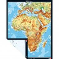 Afrika phys/pol ABW Wandkarte