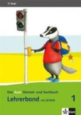 Auer Heimat- und Sachbuch 1, Lehrerband + CD-ROM