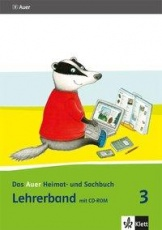 Auer Heimat- und Sachbuch 3, Lehrerband + CD-ROM