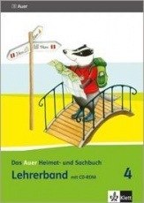 Auer Heimat- und Sachbuch 4, Lehrerband + CD-ROM