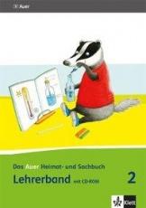 Auer Heimat- und Sachbuch 2, Lehrerband + CD-ROM