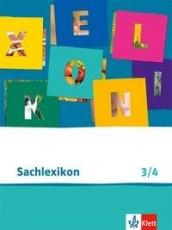 Piri Sachlexikon. 3./4. Schuljahr. Arbeitsheft mit Lexikon