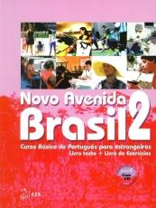 Novo Avenida Brasil A2, Kurs- und Übungsbuch + CD