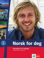 Norsk for deg (A1-A2). Lehrbuch + 2 Audio-CDs