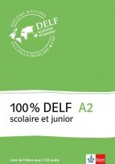 100 % DELF A2, Livre de lél., Frz.
