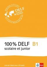 100 % DELF B1, Livre de lél., Frz.
