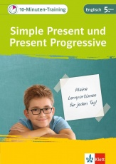 10-Min-Training Grammatik Simple Present und Present Progressive
