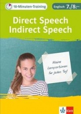 10min-Train. Englisch Direct Speech - Indirect Speech 7/8