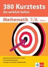 380 Kurztests Mathe 7/8