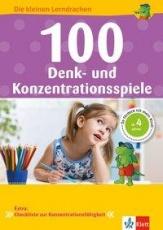 100 Denk- und Konzentrationsspiel Vorschule