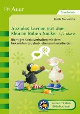 Soziales Lernen mit dem kleinen Raben Socke 1+2