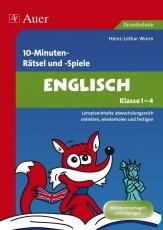 10-Minuten-Rätsel und -Spiele Englisch Klasse 1-4