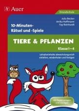 10-Minuten-Rätsel und -Spiele Tiere & Pflanzen, Lehrplaninhalte