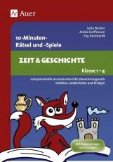10-Minuten-Rätsel und -Spiele Zeit & Geschichte