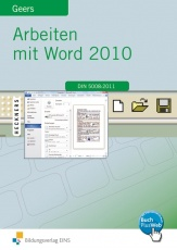 Arbeiten mit Word Schülerband