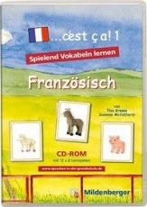 ...c´est ca! 1. Französisch.  CD-ROM für Windows ab 98SE