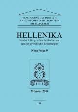 ahrbuch für griechische Kultur und Deutsch-Griechische Beziehungen