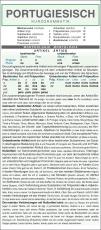 Leporello, Portugiesische Kurzgrammatik