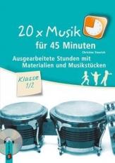 20 x Musik für 45 Minuten - Klasse 1/2