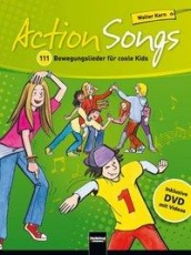 Action Songs, Buch inkl. DVD