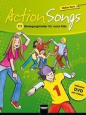 Action Songs - Paket: Buch + 2 Audio-CDs