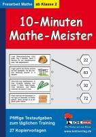 10-Minuten-Mathe-Meister Pfiffige Textaufgaben zum täglichen Training