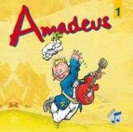 Amadeus 1 Klasse 5/6 HRG, 5-CD-Box, Neuauflage