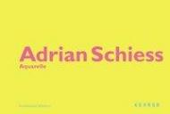 Adrian Schiess - Aquarelle