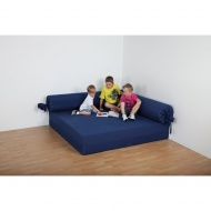 Entspannungs-Element-Quadrat, 160x160 cm (B/T), Höhe 30 cm, fester Füllkörper,