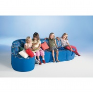 Entspannungs-Element-Sitz-Sofa, 220x60 cm (B/T), Höhe 70 cm,