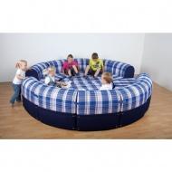 Entspannungs-Element-Rondell, 240 cm Durchmesser,