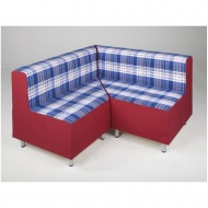 Entspannungs-Element-Ecke mit Lehne, Sitzfläche 138x72 cm (B/T), Höhe 70 cm,