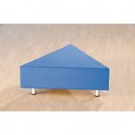Sitzelement, Dreieck groß, 112x112x112 cm (B/T), Höhe 40 cm,