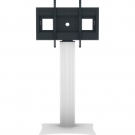 Flat-Screen-Halterung bis 84 Zoll Diagonale, fixe Höhe,