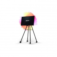 i3SIXTY Digitales Flipchart Display, kapazitives drehbares Touch-Display