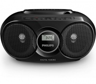 CD-Radiorekorder, Philips AZ318B, MP3-fähig, USB,