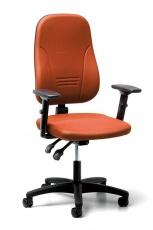 Bürodrehstuhl mit 4D T-Armlehnen,