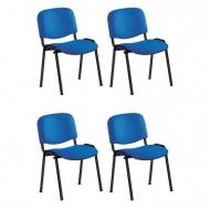 polsterstuhl ohne armlehnen mit sitz und r ckenpolster ovalrohrgestell. Black Bedroom Furniture Sets. Home Design Ideas