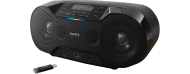 CD-Player Sony ZS-RS70BTB, USB, Bluetooth, MP3, schwarz, Gewicht 3,3kg