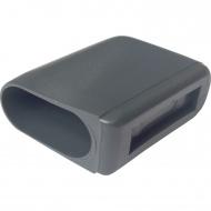 ERSATZTEIL: Fußkappe für Stuhl ALSH, flachoval 40 x 20 mm