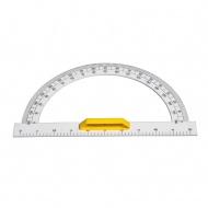 Winkelmesser 180°, Macrolon, transparent, 50 cm