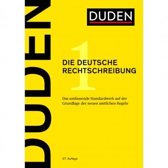 Duden Band  1. Die deutsche Rechtschreibung, 27. Auflage, 2017