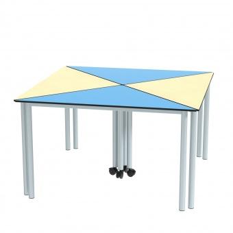 dreieckstische set 120x85 cm 70 cm hoch im viererpack g nstig online kaufen. Black Bedroom Furniture Sets. Home Design Ideas